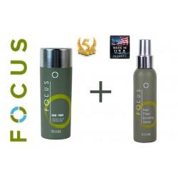 Focus Zagęszczanie Włosów 35g + Lakier Focus 120ml