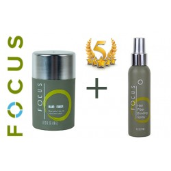 Zestaw: Focus 18g + Lakier Focus fiber hold 120ml