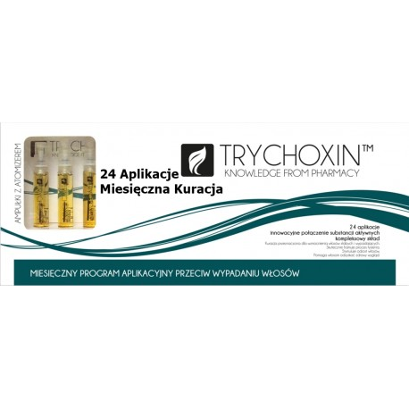 Trychoxin - miesięczna kuracja przeciw wypadaniu włosów