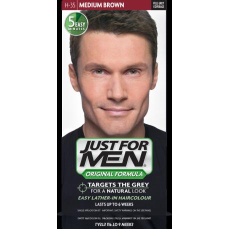 Just For Men H-35 Naturalny Średni Brąz