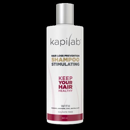 Kapilab szampon zapobiegający wypadaniu włosów 360ml