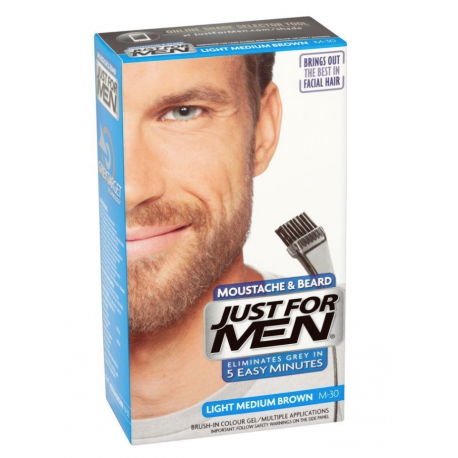 Just For Men M-30 JASNY ŚREDNI BLOND / Żel: Broda,Wąsy,Baki