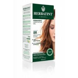 Herbatint 8R-JASNY MIEDZIANY BLOND Trwała Farba do Włosów Seria Miedziana